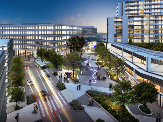 Concept Designs Of New Lifestyle Precinct In Western