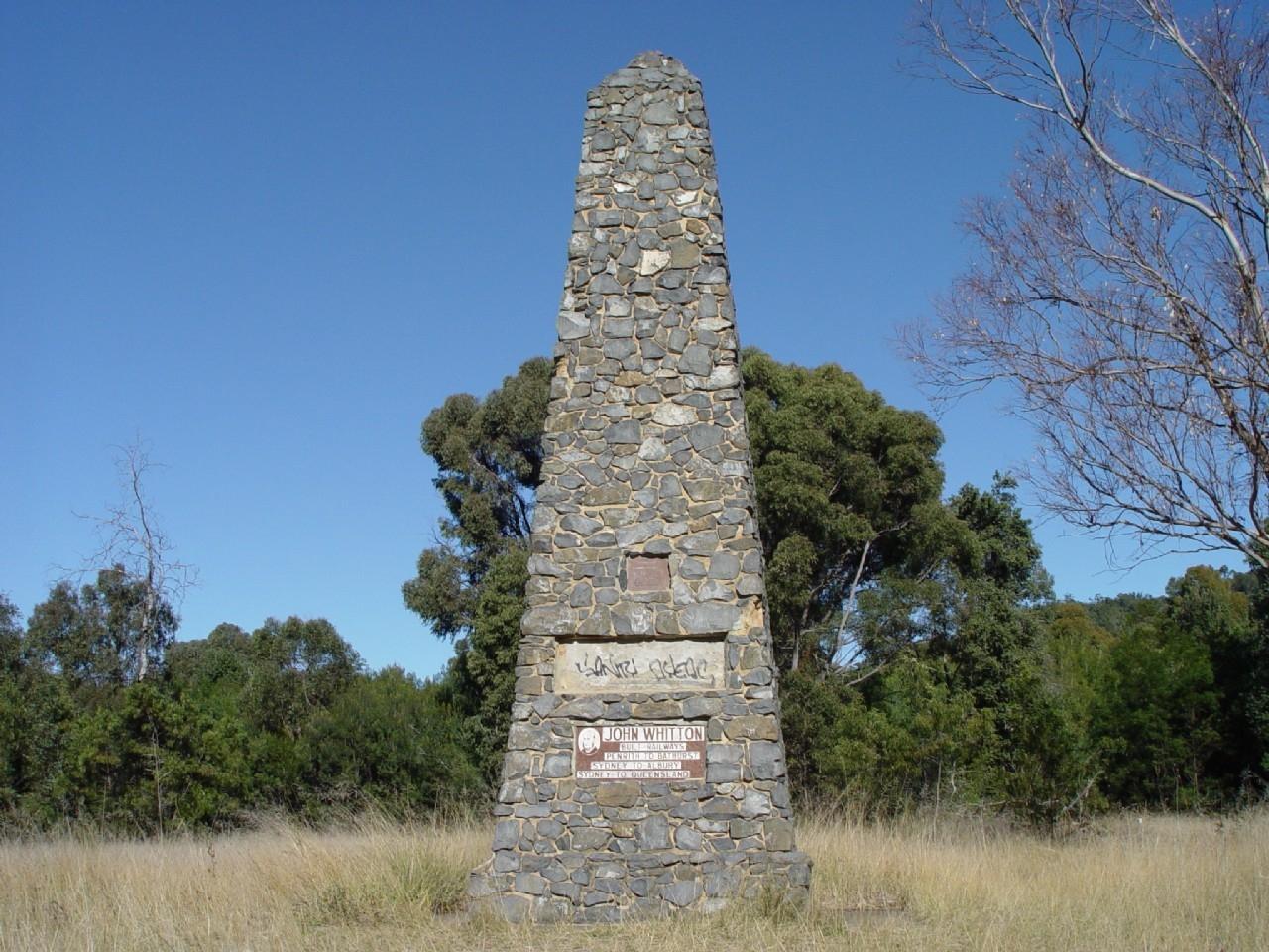 John Whitton Memorial