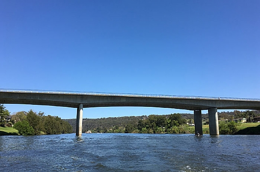 Bridge over Nepean river