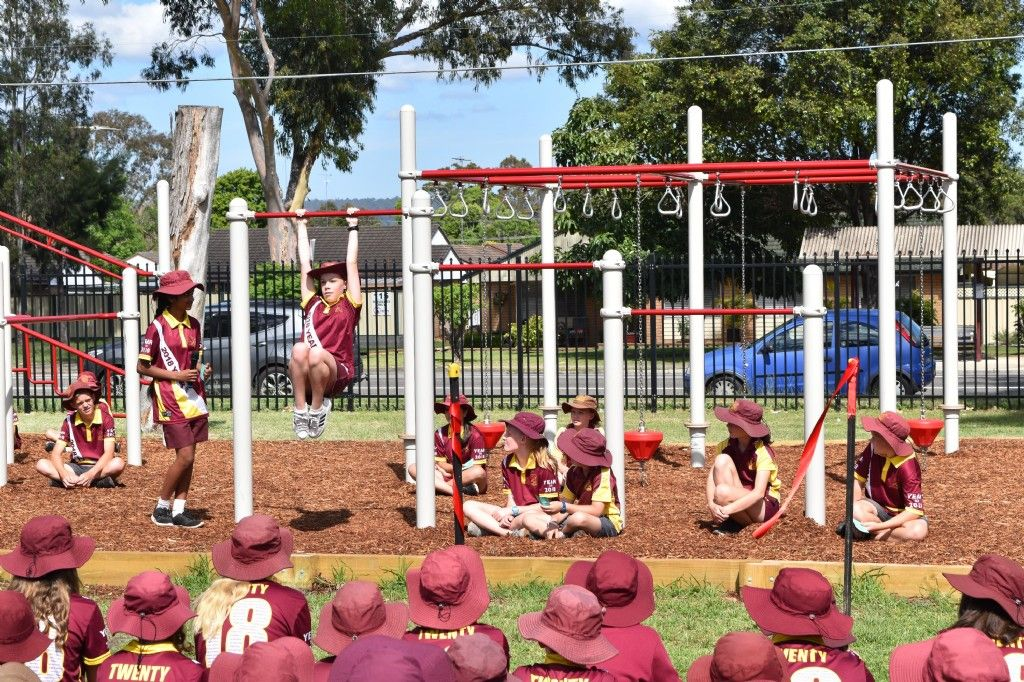 Penrith South Public School Students Win with New Fitness Area