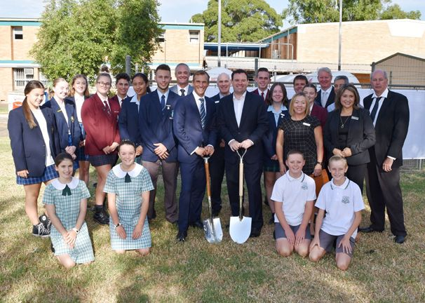 New Multi-Purpose Hall for Kingswood High and Major Projects Announced for Local Schools