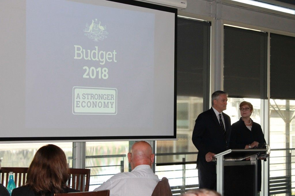 Minister for Finance Mathias Cormann Visits Lindsay for Budget Breakfast with Local Businesses in Western Sydney