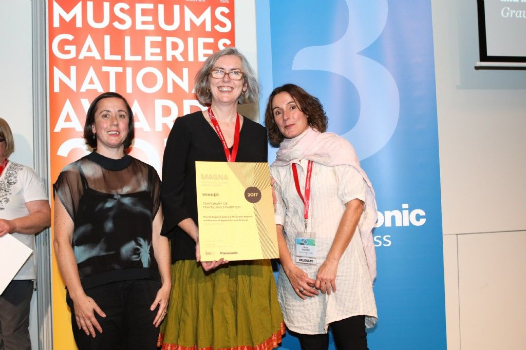 Penrith Regional Gallery & The Lewers Bequest Exhibition Wins Prestigious National Award