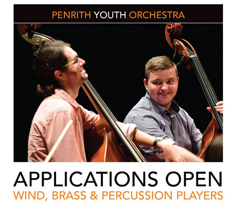 Applications for Penrith's First Ever Youth Orchestra are Now Open!
