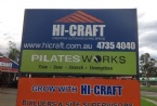 Hi-Craft outdoor signage