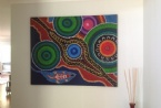 From Koori Kicks, printed on canvas by Clickmedia