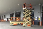 JLG Scissor Lifts.